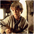 Anakin, age 9, in Watto's shop.