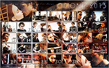 Desktop Calendar // October 2013