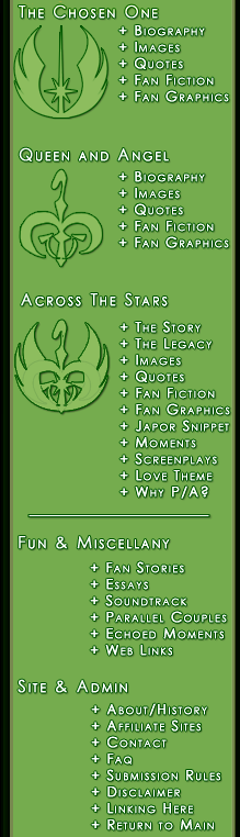 The Moons of Iego: The Padmé Amidala & Anakin Skywalker Website
